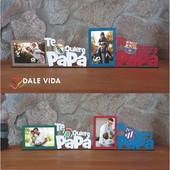 MARCO TE QUIERO PAPÁ - ⚽️FÚTBOL   Os traemos una nueva idea para regalar el día del Padre.🏅🧔  Para los más futboleros y forofos tenemos estos marcos de madera de su equipo favorito 😍.  ¡Ideal para colocar vuestra foto preferida!  #dalevida #dalevidatuvida #regalosoriginales #regalosmolones #regalospersonalizados #diadelpadre #tequierpapa #futbol #barça #realmadrid #betis #ateltico #sevilla #athletic #villareal #tenerife #zaragoza #realsociedad #granada